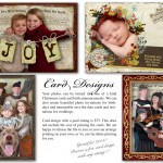 Custom Christmas cards, birth announcements, and save-the-date cards